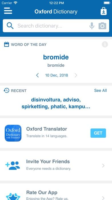 Shorter Oxford English screenshot1