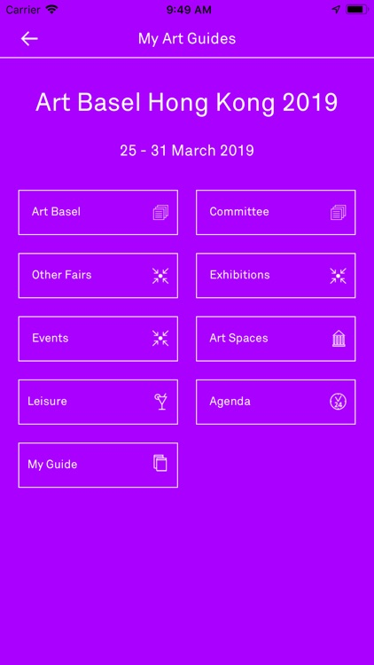 Art Basel Hong Kong 2019 screenshot-2