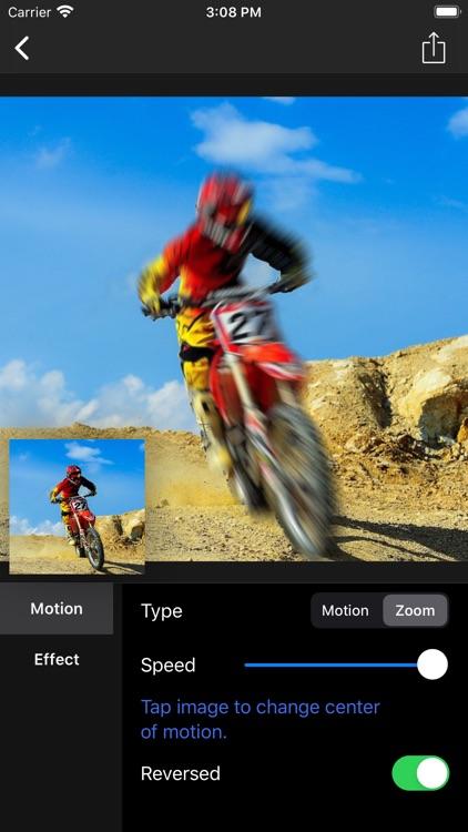Motion Blur - Panning Photo screenshot-6