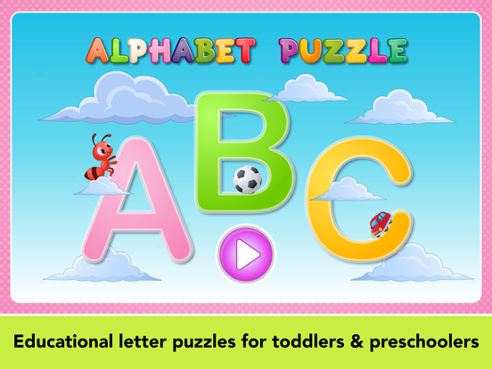 iPad Image of Learning games for toddlers.