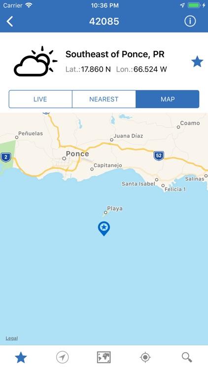 NOAA Buoys Marine Weather PRO