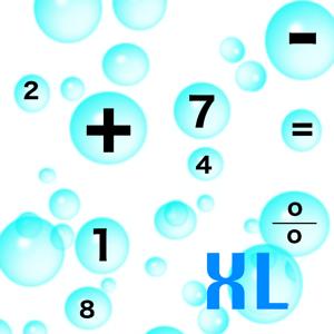 Aqua Bubbles Calculator XL