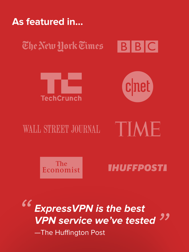 ExpressVPN - #1 Trusted VPN Screenshot