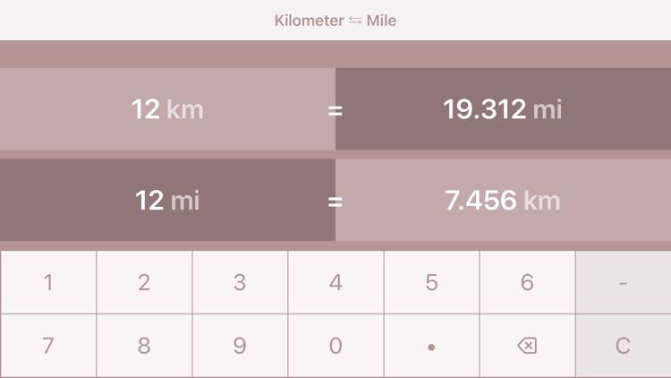 Kilometers to Miles | km to mi screenshot-4
