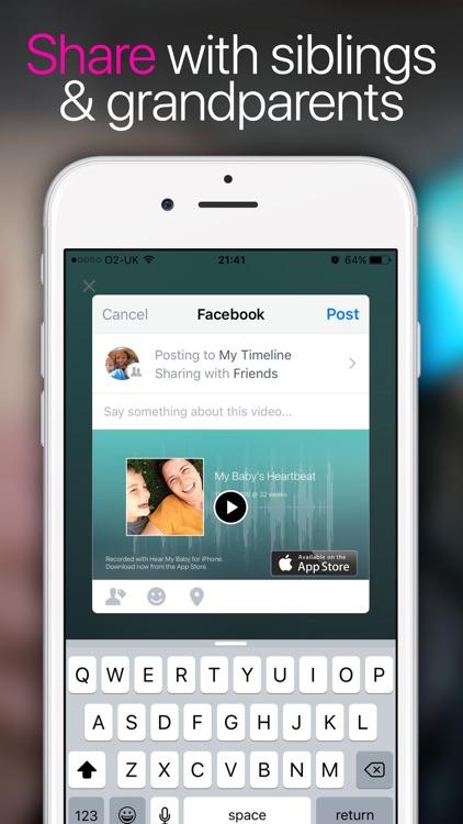 Hear My Baby Heartbeat App screenshot-3
