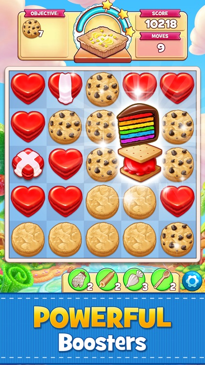 Cookie Jam: Match 3 Games