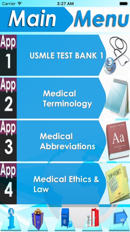 USMLE Test Bank +5000 Quizzes.