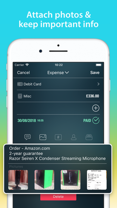 Screenshot for Money Pro: Personal Finance in India App Store