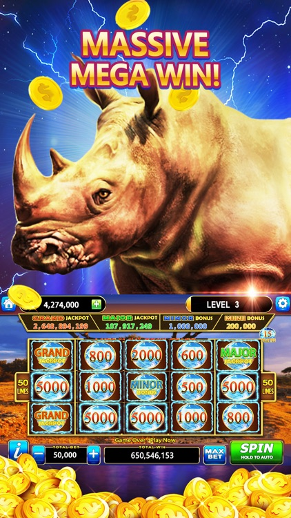 Vegas Casino Slots - Mega Win screenshot-1