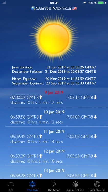 Sun and Moon Sky Finder AR Pro screenshot-5