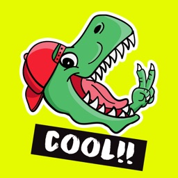 Dinosaur: Animated Stickers