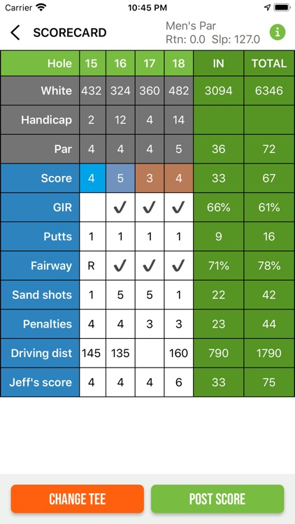 nRange Golf GPS screenshot-6