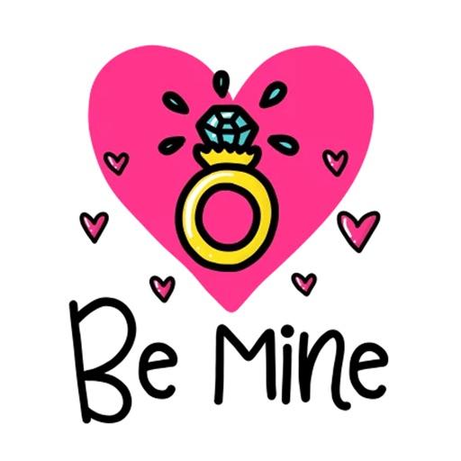 Valentine Day Emoji Stickers