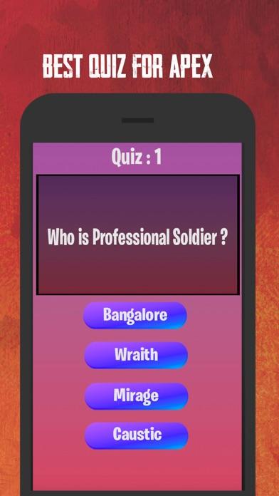 Apex Quiz screenshot 2