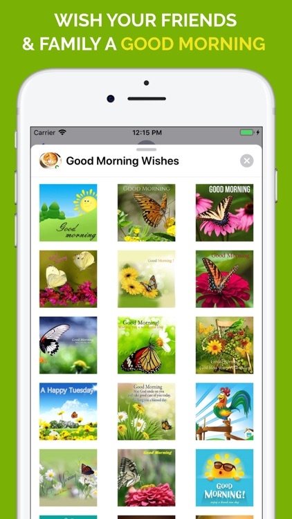 Good Morning Wishes Stickers screenshot-3