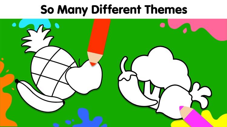 Baby Coloring Games for Kids screenshot-3