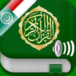 Quran Audio Arabic, Indonesian