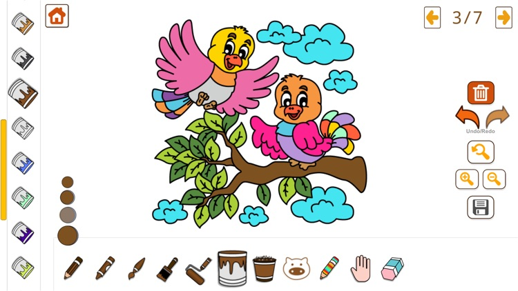 Coloring Book & Learning Color screenshot-3