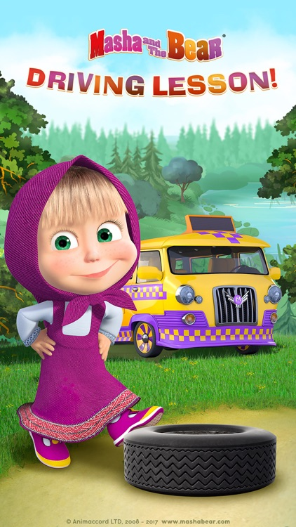 Masha and the Bear: Car Games screenshot-0