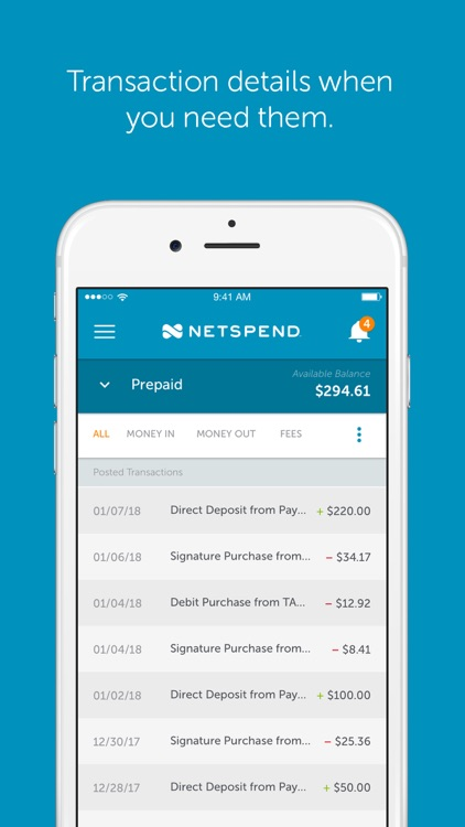 Netspend screenshot-3