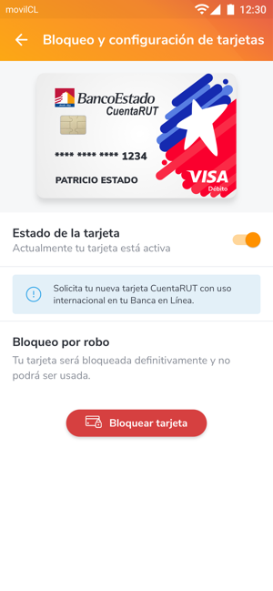 ‎BancoEstado Screenshot