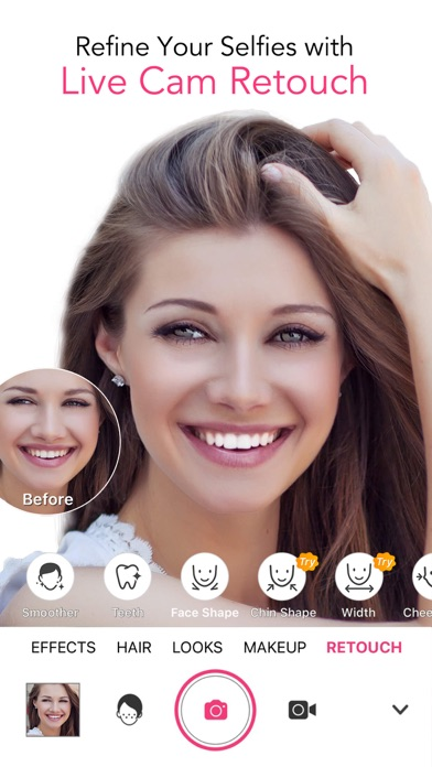 YouCam Makeup: Selfie Editor Screenshot