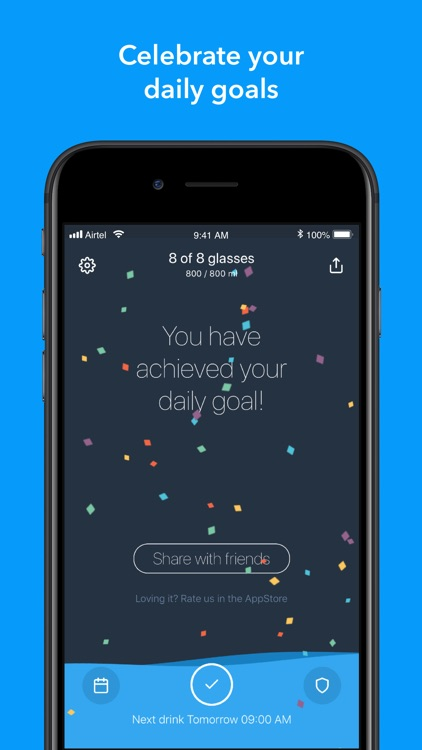 Water - Reminder and Tracker