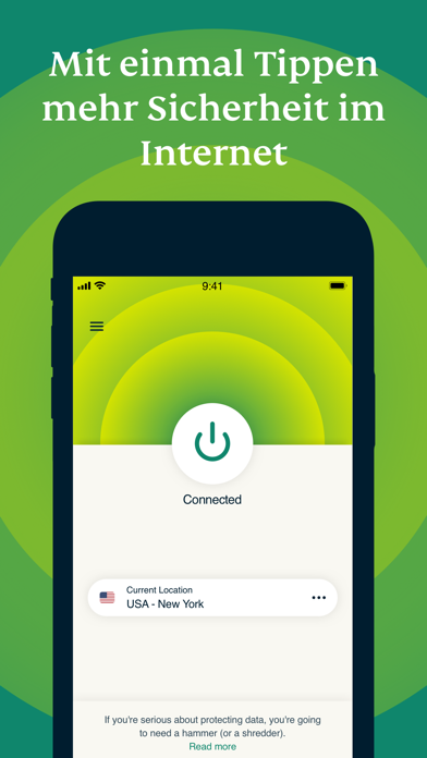 ExpressVPN - VPN Nr. 1Screenshot von 1