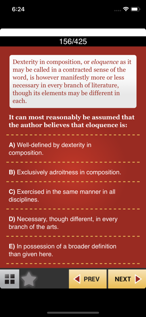 ‎QuotEd Reading Comprehension Screenshot