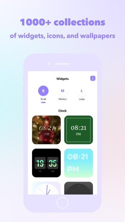 Widget+ icons, themes, custom screenshot-6