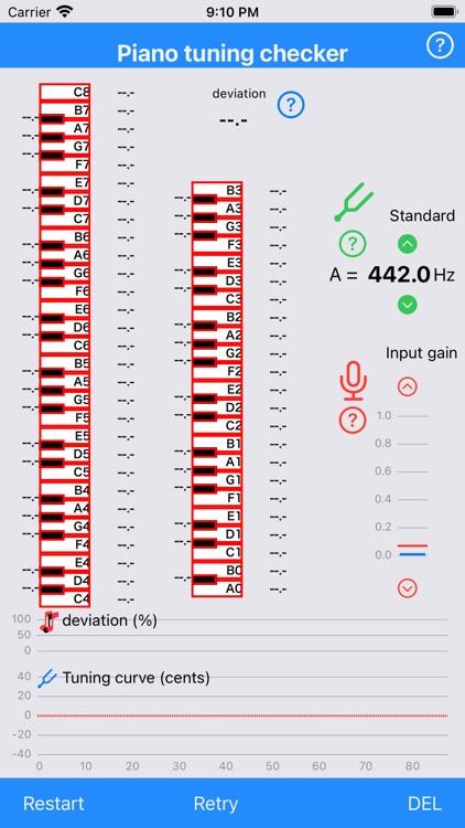Piano tuning checker LITE