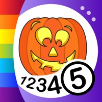 Codes for Color by Numbers - Halloween Hack