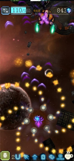Sky Master - pixel shooter Screenshot