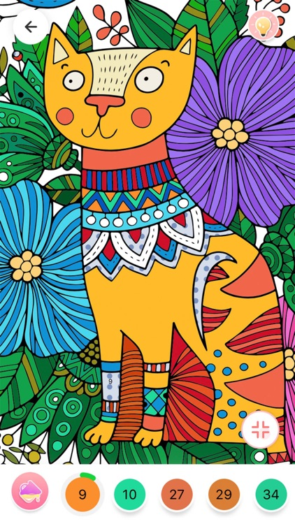 Color By Number - Fun Coloring screenshot-8