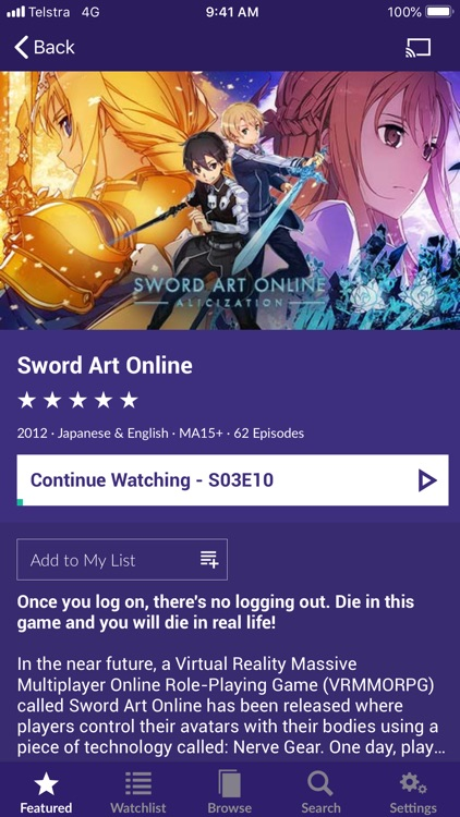 AnimeLab screenshot-4