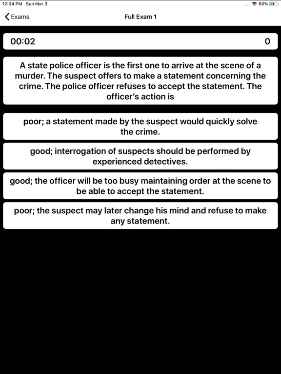 State Trooper Exam Prep screenshot 10