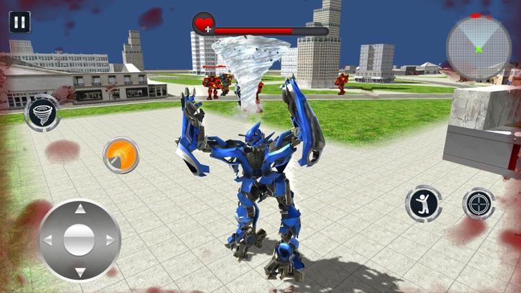 Tornado Robot Transforming War screenshot-4