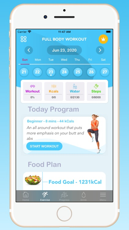 Fitbody-Workout plan for women