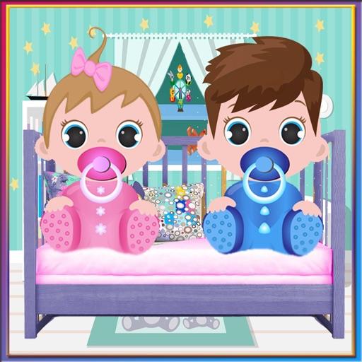 Newborn Twins Baby 2