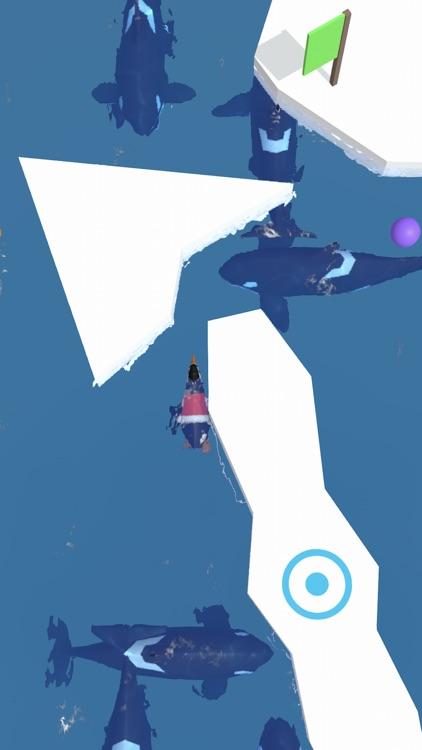 Penguin Champion - Ice Escape screenshot-5