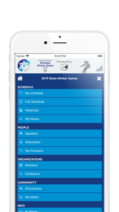 Special Olympics Michigan app image