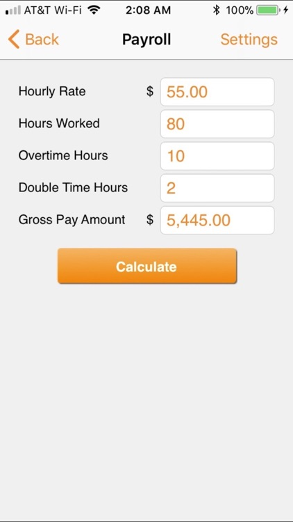 Paycheck Lite : Mobile Payroll screenshot-1