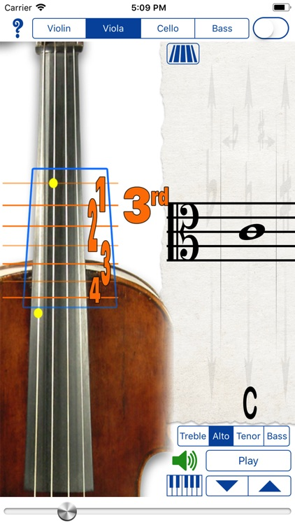 Fingering Strings for iPhone screenshot-2