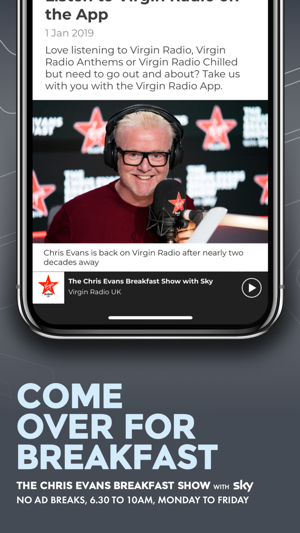 Virgin Radio UK on the App Store