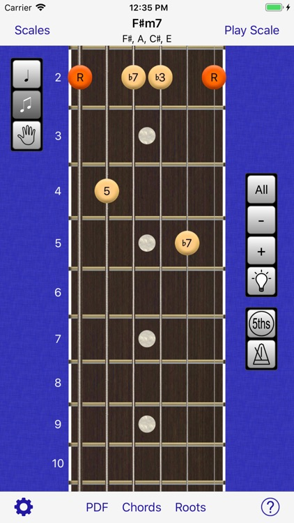 Guitar Scales & Chords Power screenshot-1