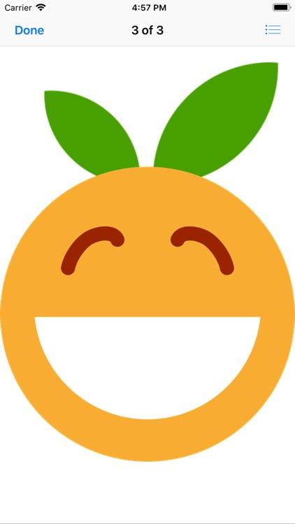 Clementine Stickers screenshot-3