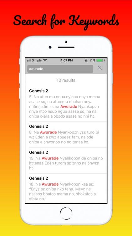 Twi Bible ― Akuapem screenshot-6