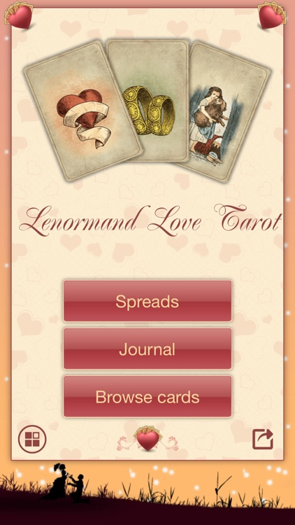 Lenormand Love Tarot screenshot-0