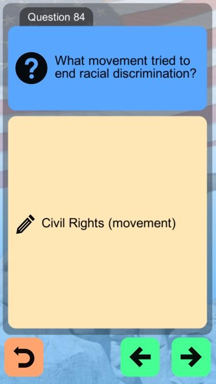 US Citizenship Test App 2021 screenshot-4