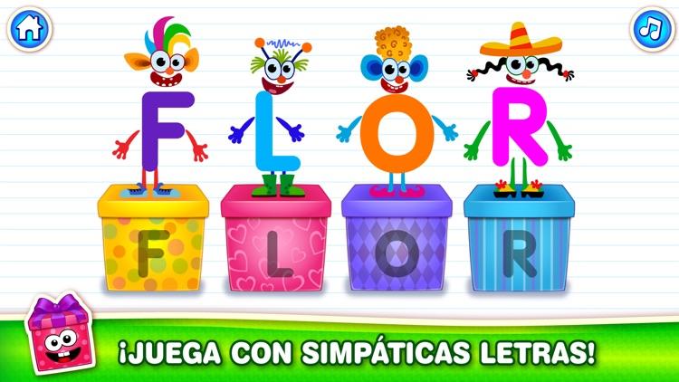 ABC Juegos Alfabeto para Niños screenshot-3